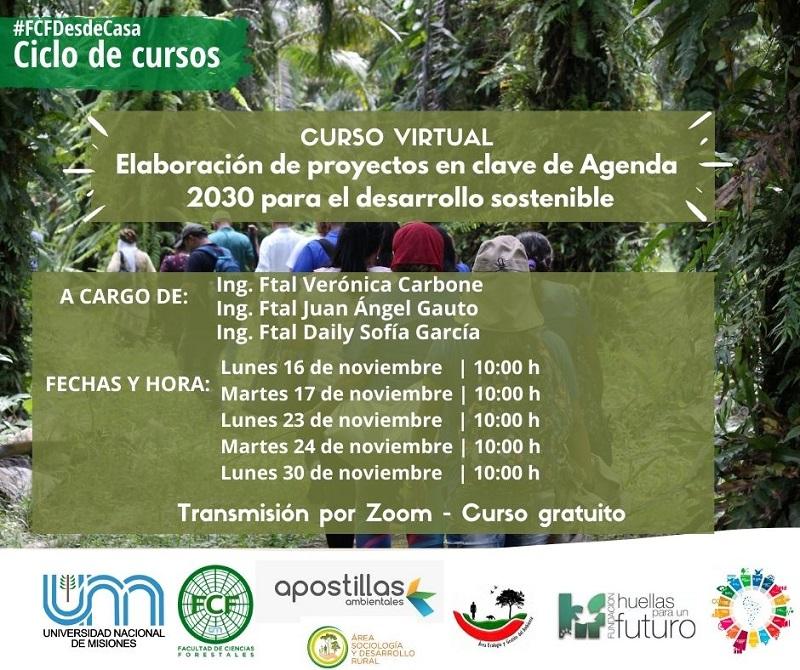 Curso Agenda 2030 UNAM
